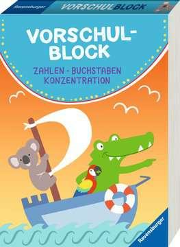 41607 Lernbücher und Rätselbücher Vorschulblock von Ravensburger 2