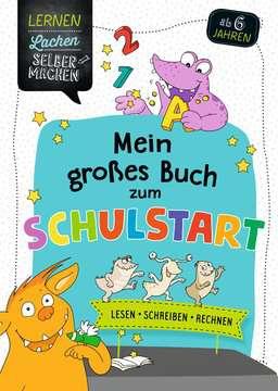 41609 Lernbücher und Rätselbücher Mein großes Buch zum Schulstart von Ravensburger 1