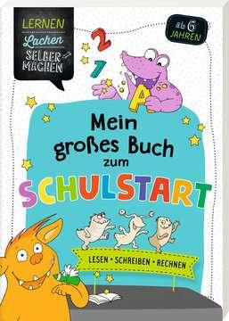 41609 Lernbücher und Rätselbücher Mein großes Buch zum Schulstart von Ravensburger 2