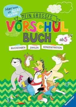 41610 Lernbücher und Rätselbücher Mein großes Vorschulbuch von Ravensburger 1