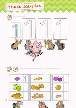 41610 Lernbücher und Rätselbücher Mein großes Vorschulbuch von Ravensburger 4