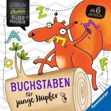 41611 Lernbücher und Rätselbücher Buchstaben für junge Hüpfer von Ravensburger 1