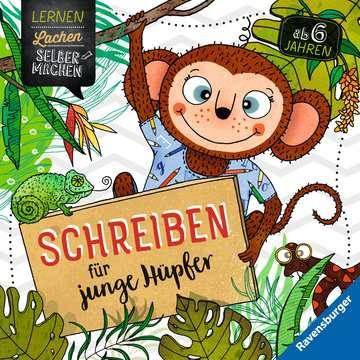 41612 Lernbücher und Rätselbücher Schreiben für junge Hüpfer von Ravensburger 1
