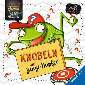 41613 Lernbücher und Rätselbücher Knobeln für junge Hüpfer von Ravensburger 1
