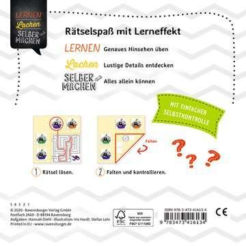 41613 Lernbücher und Rätselbücher Knobeln für junge Hüpfer von Ravensburger 3