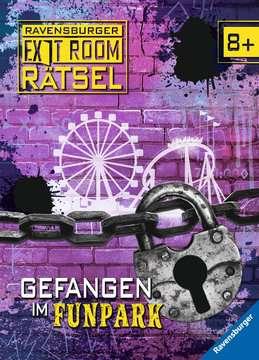 41702 Lernbücher und Rätselbücher Ravensburger Exit Room Rätsel: Gefangen im Funpark von Ravensburger 1