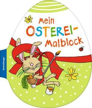 41703 Malbücher und Bastelbücher Mein Osterei-Malblock von Ravensburger 1