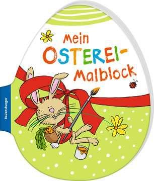 41703 Malbücher und Bastelbücher Mein Osterei-Malblock von Ravensburger 2