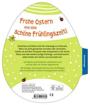 41703 Malbücher und Bastelbücher Mein Osterei-Malblock von Ravensburger 3