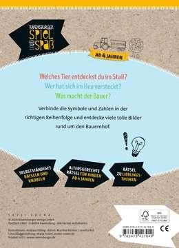 41704 Lernbücher und Rätselbücher Rätselblock von Punkt zu Punkt: Auf dem Bauernhof von Ravensburger 3