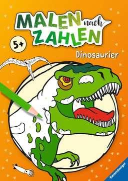 41709 Malbücher und Bastelbücher Malen nach Zahlen: Dinosaurier von Ravensburger 1