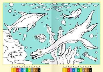 41709 Malbücher und Bastelbücher Malen nach Zahlen: Dinosaurier von Ravensburger 4