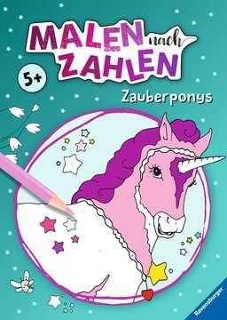 41710 Malbücher und Bastelbücher Malen nach Zahlen: Zauberponys von Ravensburger 1