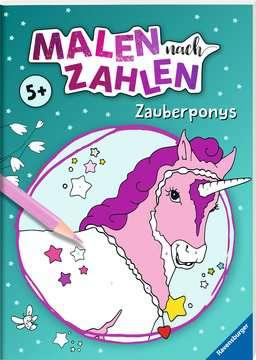 41710 Malbücher und Bastelbücher Malen nach Zahlen: Zauberponys von Ravensburger 2