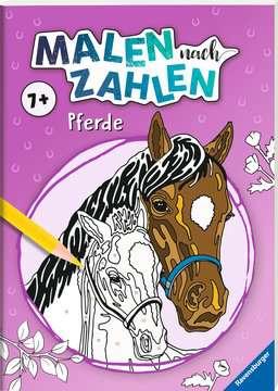 41711 Malbücher und Bastelbücher Malen nach Zahlen: Pferde von Ravensburger 2