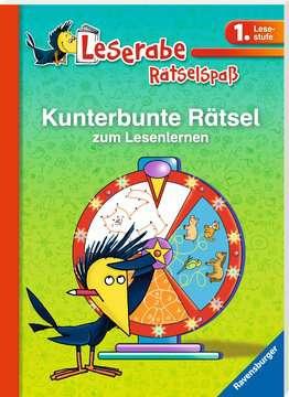 41717 Lernbücher und Rätselbücher Kunterbunte Rätsel zum Lesenlernen (1. Lesestufe) von Ravensburger 2