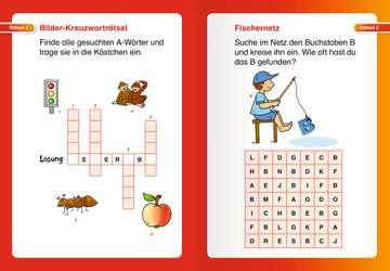 41717 Lernbücher und Rätselbücher Kunterbunte Rätsel zum Lesenlernen (1. Lesestufe) von Ravensburger 4