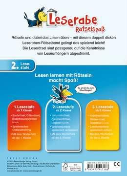 41718 Lernbücher und Rätselbücher Kunterbunte Rätsel zum Lesenlernen (2. Lesestufe) von Ravensburger 3