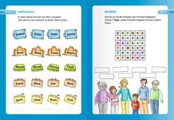 41718 Lernbücher und Rätselbücher Kunterbunte Rätsel zum Lesenlernen (2. Lesestufe) von Ravensburger 4
