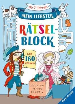 41721 Lernbücher und Rätselbücher Mein liebster Rätselblock von Ravensburger 1