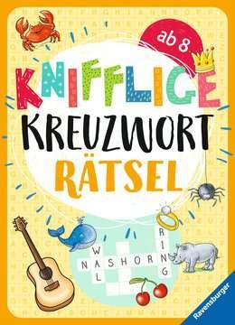 41725 Lernbücher und Rätselbücher Knifflige Kreuzworträtsel von Ravensburger 1