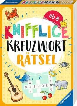 41725 Lernbücher und Rätselbücher Knifflige Kreuzworträtsel von Ravensburger 2