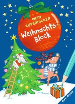 41732 Malbücher und Bastelbücher Mein superdicker Weihnachtsblock von Ravensburger 1