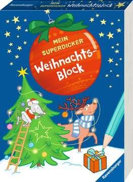 41732 Malbücher und Bastelbücher Mein superdicker Weihnachtsblock von Ravensburger 2