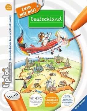 tiptoi® Deutschland Lernen und Fördern;Lernbücher - Bild 1 - Ravensburger