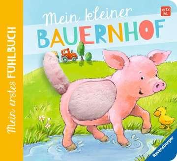 43294 Babybücher und Pappbilderbücher Mein erstes Fühlbuch: Mein kleiner Bauernhof von Ravensburger 1