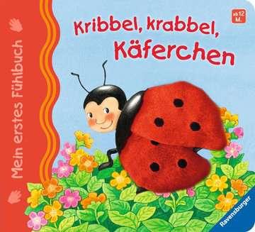 43295 Babybücher und Pappbilderbücher Mein erstes Fühlbuch: Kribbel, krabbel, Käferchen von Ravensburger 1