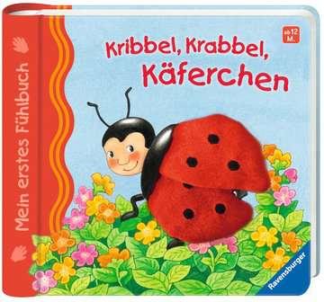 43295 Babybücher und Pappbilderbücher Mein erstes Fühlbuch: Kribbel, krabbel, Käferchen von Ravensburger 2
