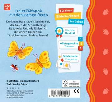 43295 Babybücher und Pappbilderbücher Mein erstes Fühlbuch: Kribbel, krabbel, Käferchen von Ravensburger 3