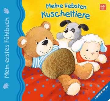 43296 Babybücher und Pappbilderbücher Mein erstes Fühlbuch: Meine liebsten Kuscheltiere von Ravensburger 1