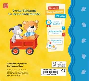43296 Babybücher und Pappbilderbücher Mein erstes Fühlbuch: Meine liebsten Kuscheltiere von Ravensburger 3
