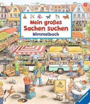 43345 Babybücher und Pappbilderbücher Mein großes Sachen suchen - Wimmelbuch von Ravensburger 1