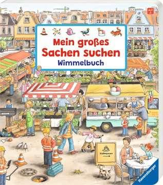 43345 Babybücher und Pappbilderbücher Mein großes Sachen suchen - Wimmelbuch von Ravensburger 2
