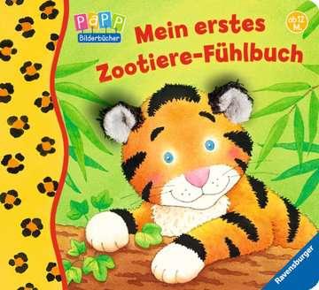 43347 Babybücher und Pappbilderbücher Mein erstes Zootiere-Fühlbuch von Ravensburger 1