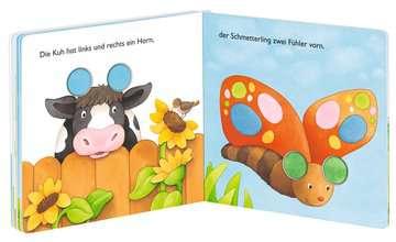 43354 Babybücher und Pappbilderbücher Viele kleine Zappeltiere von Ravensburger 5