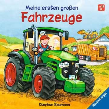 Meine ersten großen Fahrzeuge Kinderbücher;Babybücher und Pappbilderbücher - Bild 1 - Ravensburger