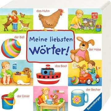 43390 Babybücher und Pappbilderbücher Meine liebsten Wörter! von Ravensburger 2