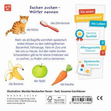43390 Babybücher und Pappbilderbücher Meine liebsten Wörter! von Ravensburger 3