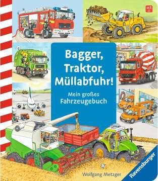 43407 Babybücher und Pappbilderbücher Bagger, Traktor, Müllabfuhr! von Ravensburger 1