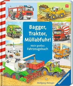 43407 Babybücher und Pappbilderbücher Bagger, Traktor, Müllabfuhr! von Ravensburger 2