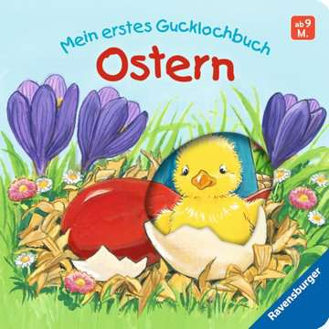 43429 Babybücher und Pappbilderbücher Mein erstes Gucklochbuch - Ostern von Ravensburger 1