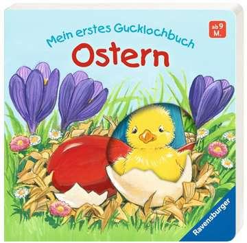43429 Babybücher und Pappbilderbücher Mein erstes Gucklochbuch - Ostern von Ravensburger 2