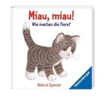 43453 Babybücher und Pappbilderbücher Miau, miau! - Wie machen die Tiere? von Ravensburger 2