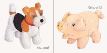 43453 Babybücher und Pappbilderbücher Miau, miau! - Wie machen die Tiere? von Ravensburger 4