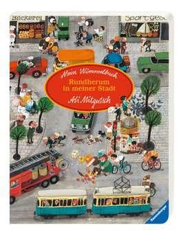 43488 Babybücher und Pappbilderbücher Mein Wimmelbuch: Rundherum in meiner Stadt von Ravensburger 2