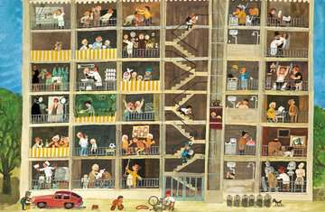 43488 Babybücher und Pappbilderbücher Mein Wimmelbuch: Rundherum in meiner Stadt von Ravensburger 4